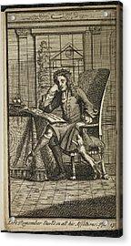 King James 11 King Of England Acrylic Print