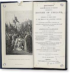 King John Signing The Magna Carta Acrylic Print by British Library