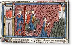 King Louis Ix Of France Acrylic Print