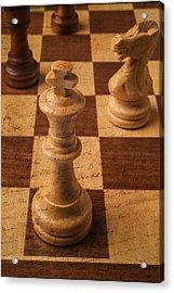 King Of Chess Acrylic Print