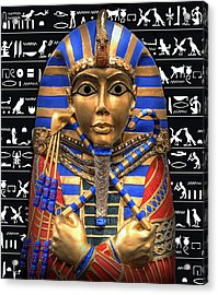 King Of Egypt Acrylic Print by Daniel Hagerman