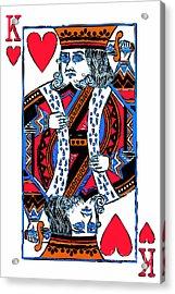 King Of Hearts 20140301 Acrylic Print