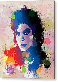 King Of Pop Acrylic Print by Anthony Mwangi
