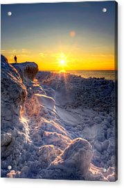 King Of The Hill Acrylic Print by Jenny Ellen Photography