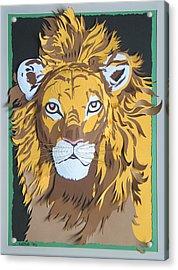 King Of The Jungle Acrylic Print by John Hebb