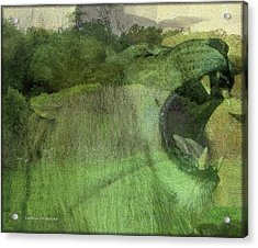 Acrylic Print featuring the photograph King Of The Jungle by Kathie Chicoine
