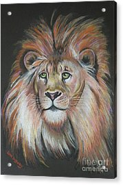 King Of The Jungle Acrylic Print by Lora Duguay