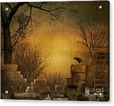 King Of The Ruins Acrylic Print by Bedros Awak