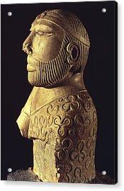 King-priest. Ca. 2000 Bc. Limestone Acrylic Print