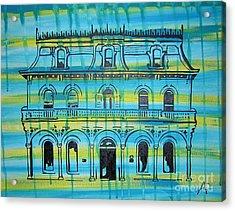 King William Steves Homestead Acrylic Print by Amanda Furr