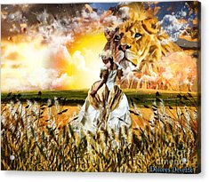 Kingdom Gold Acrylic Print