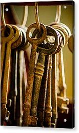 Kingdom Keys Acrylic Print by David Clanton