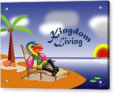 Kingdom Living Acrylic Print