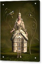 Kingdom Of Her Own Acrylic Print by Britta Glodde