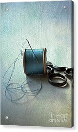 Kingfisher Blue Acrylic Print