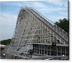 Kings Dominion - Rebel Yell - 12121 Acrylic Print by DC Photographer