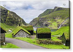 Kings Farm In The Valley Of Saksun Acrylic Print