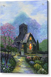 King's Garden Acrylic Print by Bonnie Cook