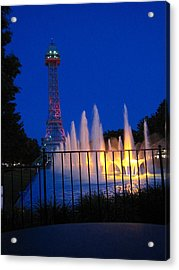 Kings Island - 121240 Acrylic Print by DC Photographer
