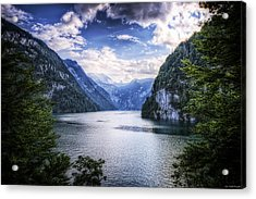 Acrylic Print featuring the photograph Kings Lake by Ryan Wyckoff