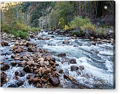 Kings River 1-7818 Acrylic Print by Stephen Parker