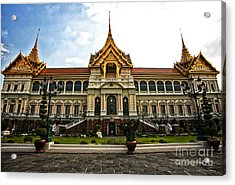 King's Temple Acrylic Print by Thanh Tran