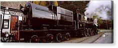 Kingston Flyer Vintage Steam Train Acrylic Print