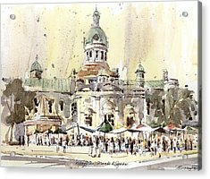 Kingston Market Square Acrylic Print