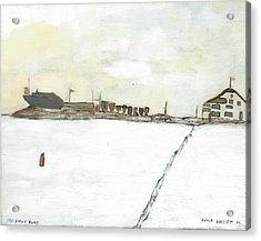 Kingston Yacht Club Acrylic Print