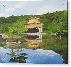 Kinkaku Ji Acrylic Print