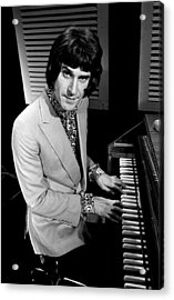 Kinks Ray Davies 1967 Acrylic Print by Chris Walter