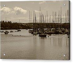 Kinsale Harbor At Dusk Acrylic Print by Winifred Butler