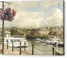 Kinsale Harbor Acrylic Print by Winifred Butler