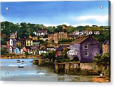 Kinsale Harbour West Cork Acrylic Print