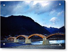 Kintai Bridge Japan Acrylic Print