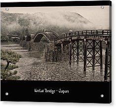 Kintai Bridge Acrylic Print by Kim Andelkovic