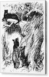 Kipling The Jungle Book Acrylic Print by Granger