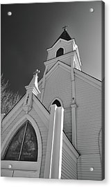Kirche Der St Walburga Acrylic Print by Guy Whiteley