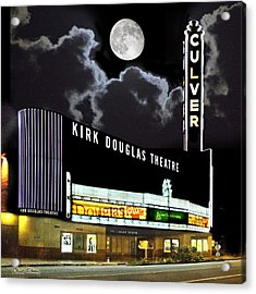Kirk Douglas Theatre Acrylic Print by Chuck Staley