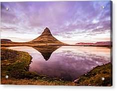 Kirkjufell At Sunset Acrylic Print