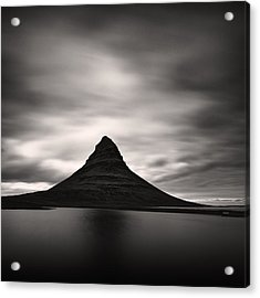 Acrylic Print featuring the photograph Kirkjufell I by Frodi Brinks