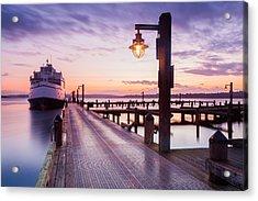 Kirkland Pier Acrylic Print