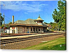 Kirkwood Station Acrylic Print by Marty Koch