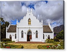 Kirstenbosch Church Acrylic Print by Maria Coulson