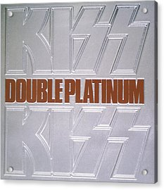 Kiss - Double Platinum Acrylic Print by Epic Rights