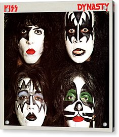 Kiss - Dynasty Acrylic Print by Epic Rights