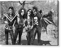 Kiss - Group Early Years Acrylic Print by Epic Rights
