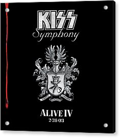 Kiss - Kiss Symphony: Alive Iv Acrylic Print by Epic Rights