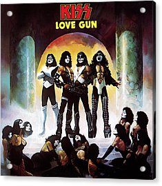 Kiss - Love Gun Acrylic Print by Epic Rights