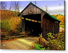 Acrylic Print featuring the photograph Kissing Bridge by Bill Howard